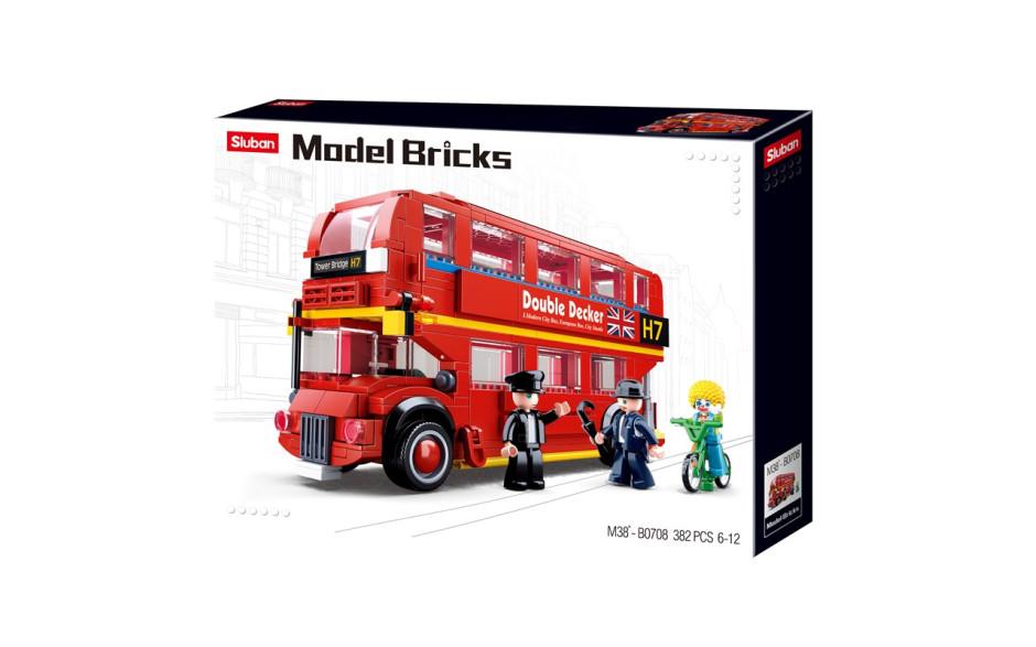 Sluban Londonse dubbeldekkerbus101380708