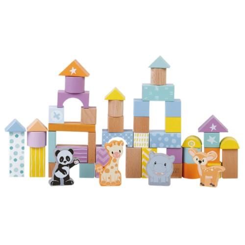 Studio Circus 50 houten blokken 30338