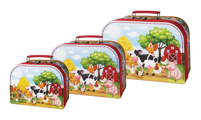 3 koffers Boerderij 20609