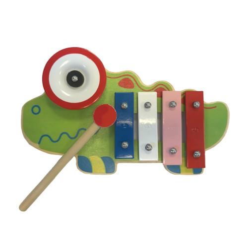 Xylofoon hout kameleon 23174