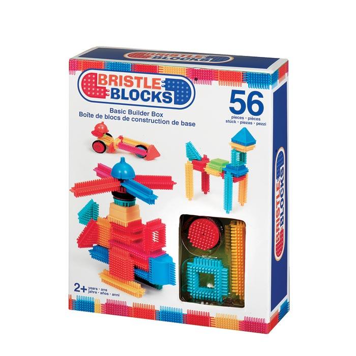56 Bristle Blocks in doos 3070Z