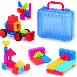 50 Bristle Blocks in koffer 3081Z