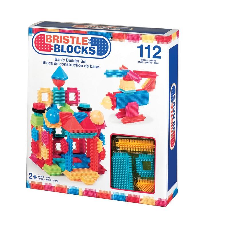 112 Bristle Blocks in doos 3091Z