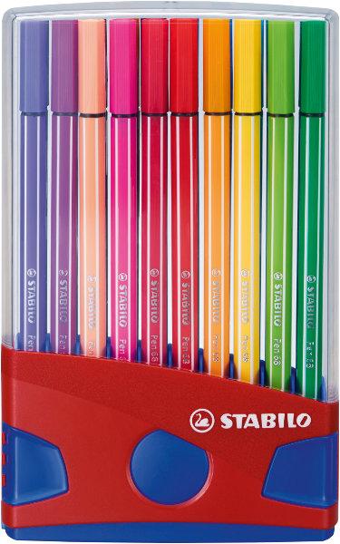 20 stabilo pen 68 colorparade standaard