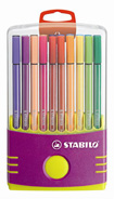 20 stabilo pen 68 colorparade lila
