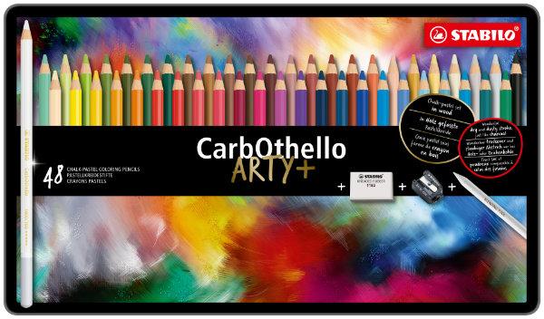 Stabilo 48 CarbOthello pastelpotl.1448-6