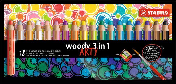 18 Stabilo ARTY woody 880/18-1-20