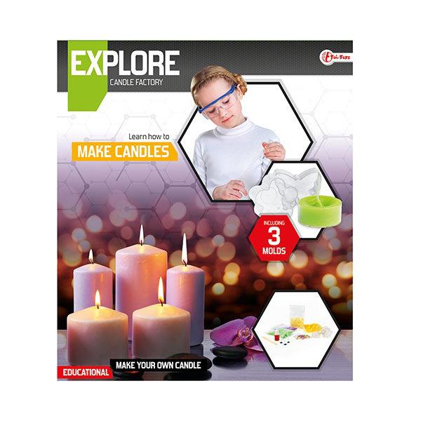 Explore wetenschap set kaarsen 35910A