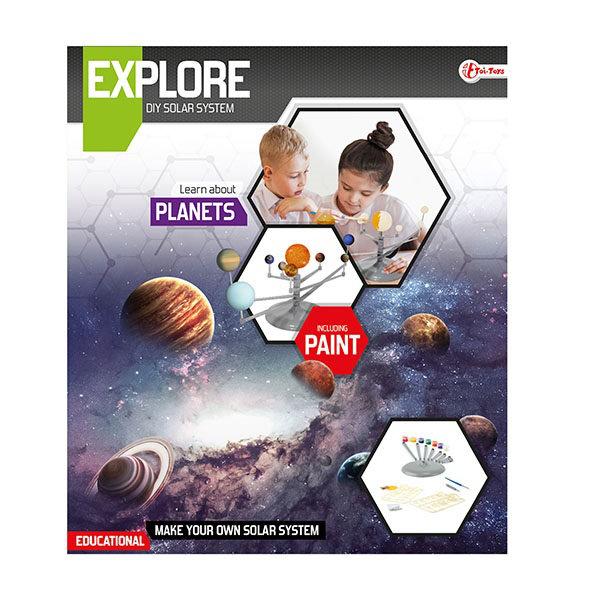 Explore wetenschap set zonnestels.35912A