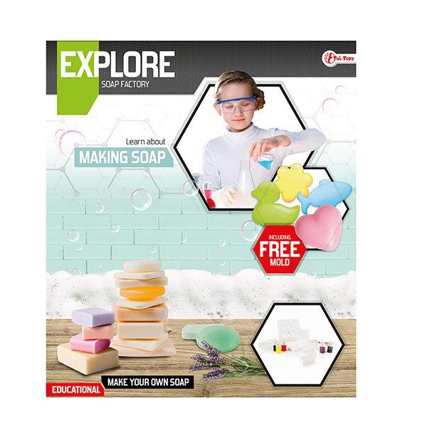 Explore wetenschap set-maak zeep 35907A