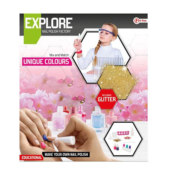 Explore wetenschap set-maak nagellak