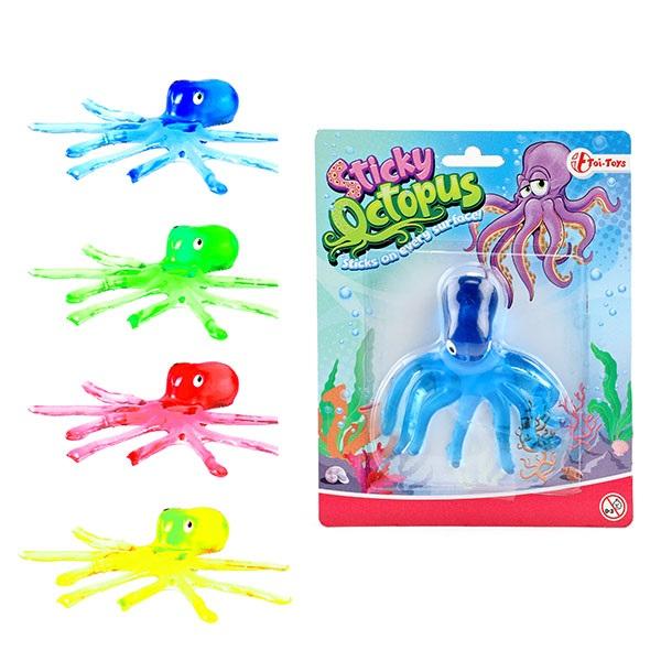 Raamkruiper kleverige octopus 4ass.35634