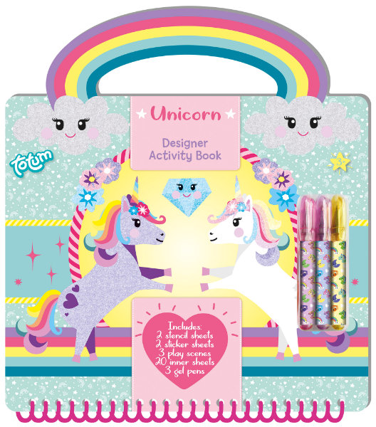 Unicorn activity book 071582