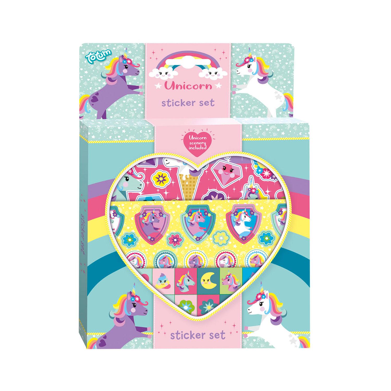 Unicorn stickerset 071384