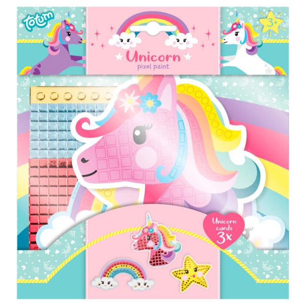 Unicorn pixel paint 071025