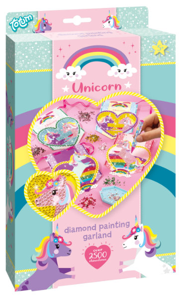 Unicorn diamond painting 071056
