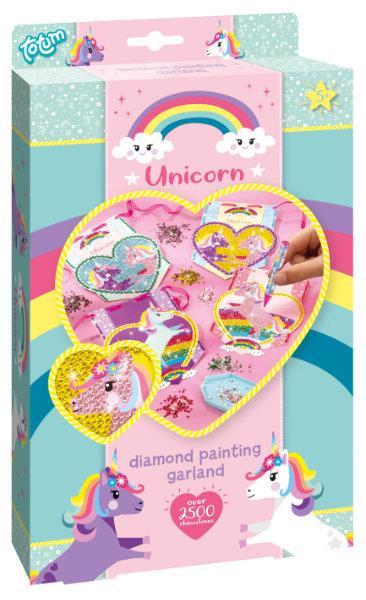 Unicorn diamond painting 071056