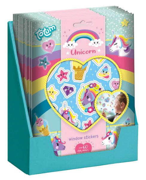 Unicorn raamstikkers 071568