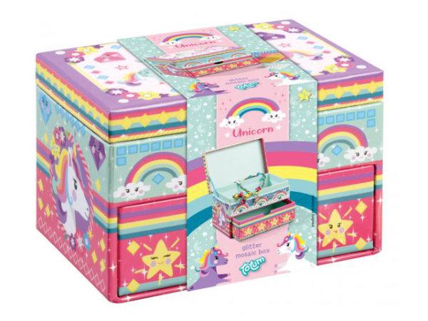 Unicorn sieradenbox versieren 071544