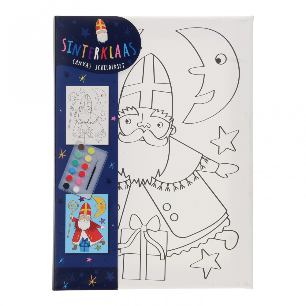 Canvas Schilderijset Sinterklaas PB3050