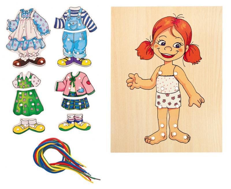Woody aankleed meisjes set 90017