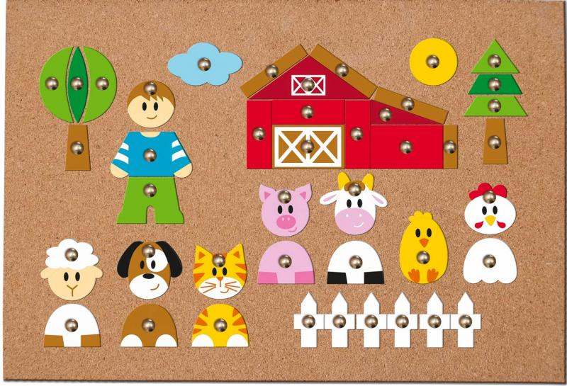 Woody Hamertje tik boerderij 90701