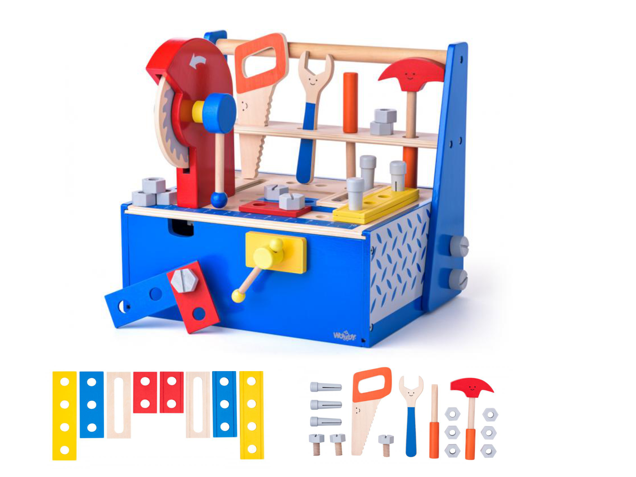 Woody Werkbank met gereedschap 91935