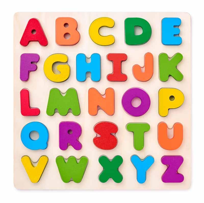 Woody puzzel alfabet 90634