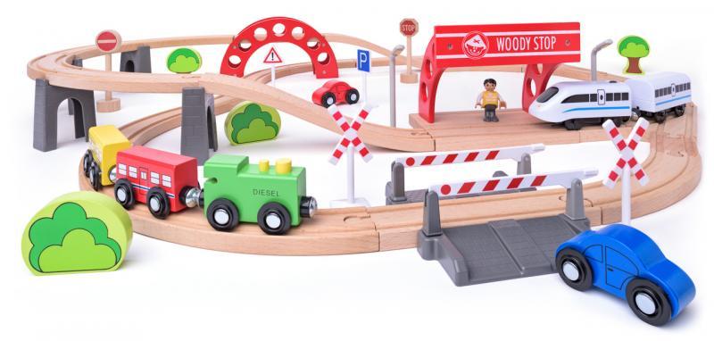 Woody Treinset met elec. loco 93064