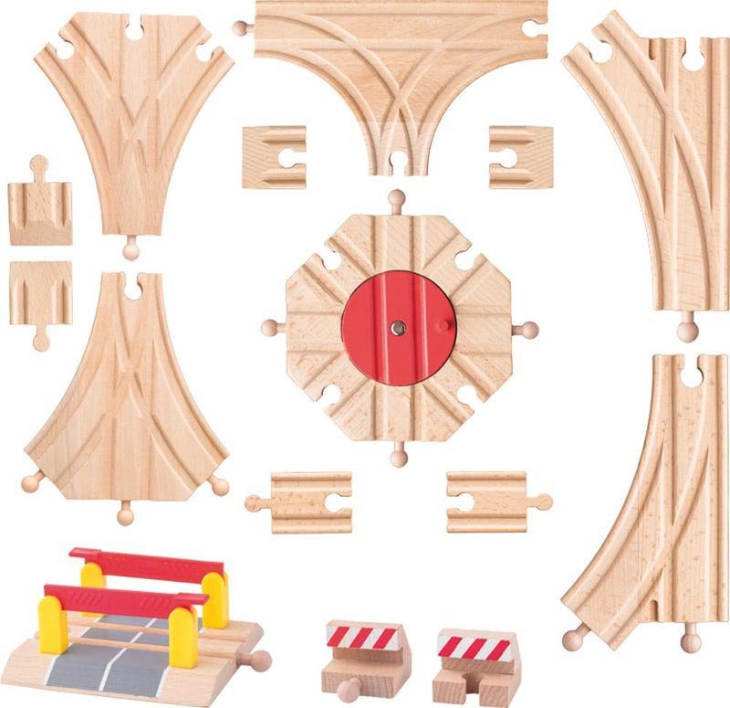 Woody trein uitbreidingsset 91813
