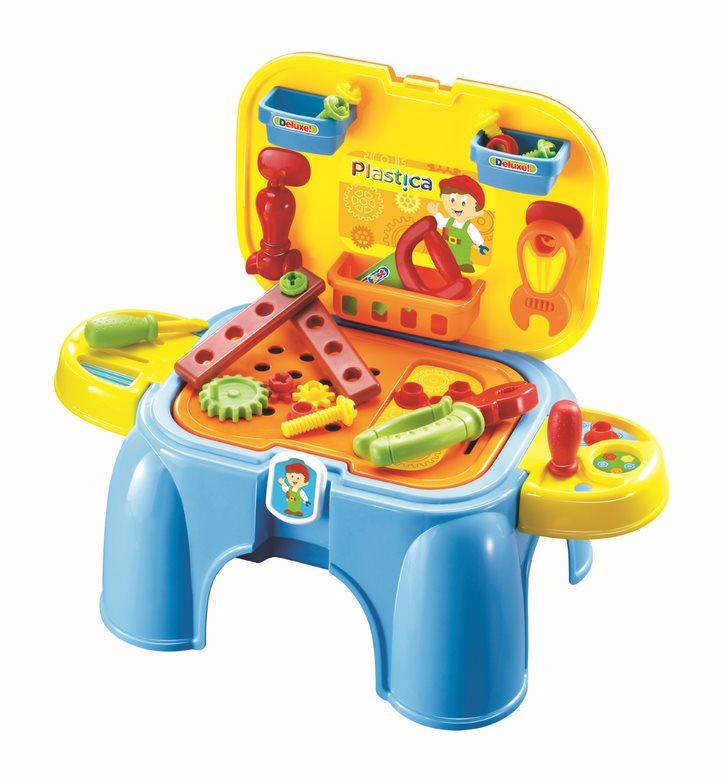 Plastica Gereedschapset en stoel 91610