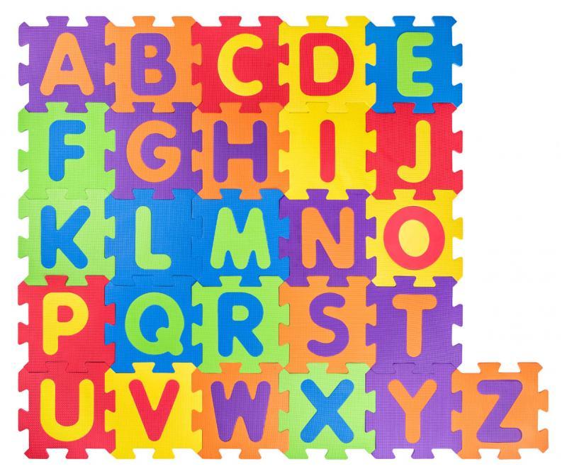 EVA Alfabet foam puzzel mat 91628