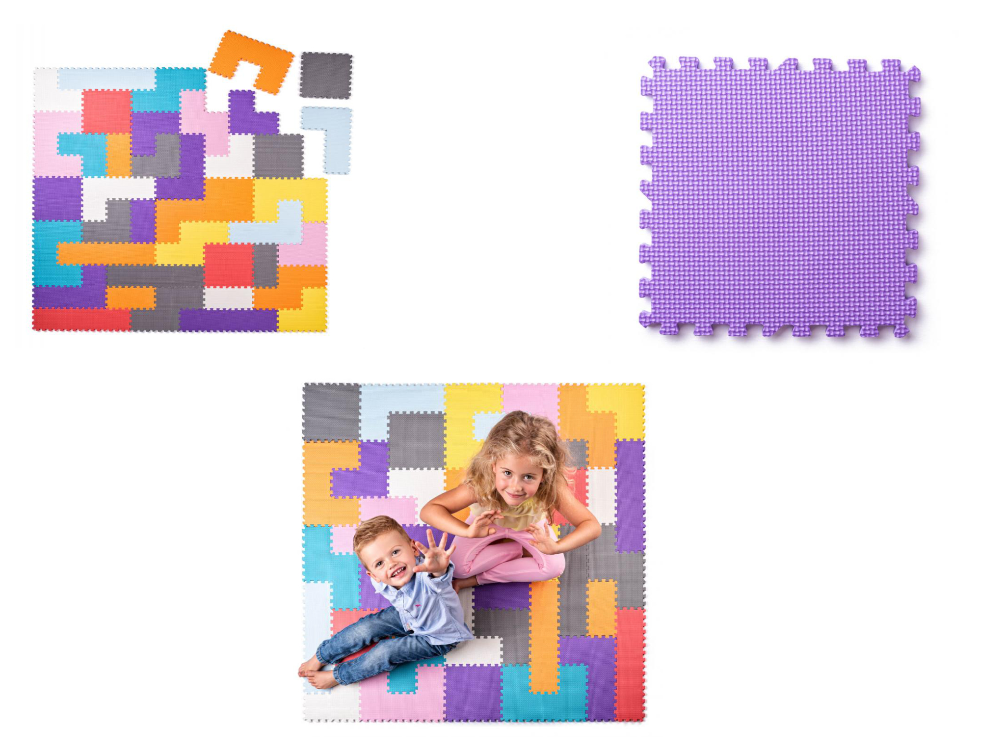 EVA foam Puzzel speelmat Plastica 91648