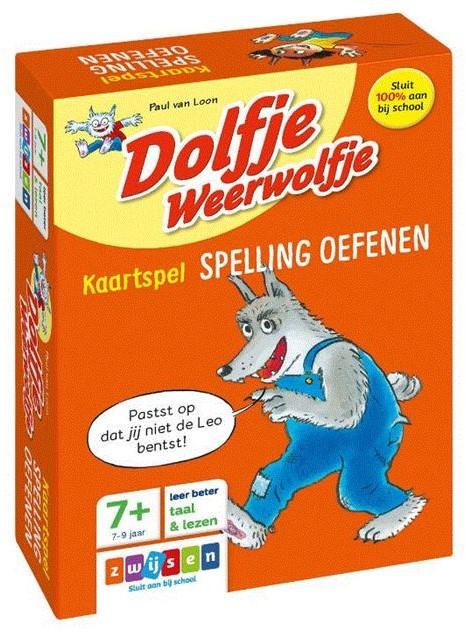 Dolfje Weerwolfje kaartspel spelling oef