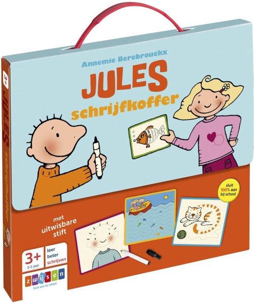 Jules schrijfkoffer 14,99 adv.
