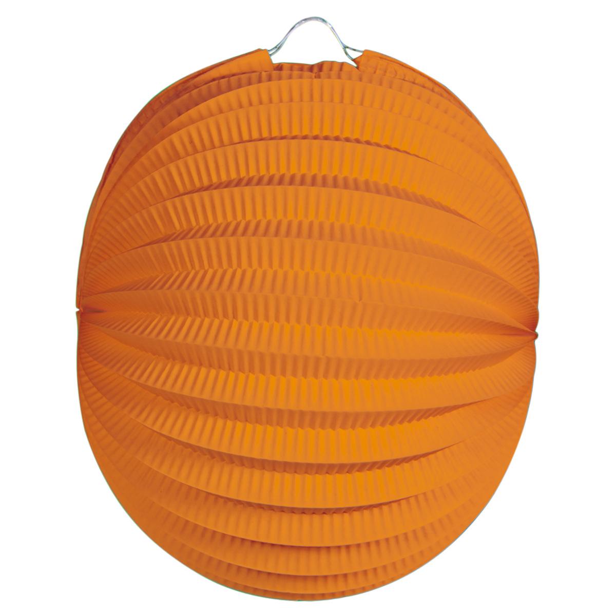 12 bollampion 22cm oranje 04846