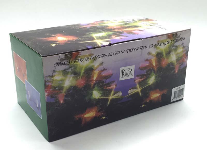 Fiberverlicht. 20 Lamps 20121